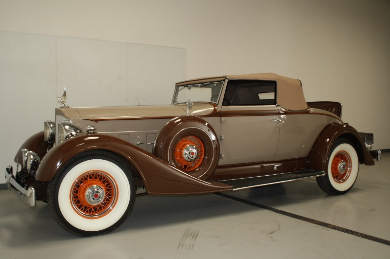 1934 Packard Super 8 1104 Roadster The Vault Classic Cars