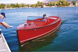 1930 Chris Craft Wood speedboat - beautifully restored, operational, and ready to enjoy now! Chrysler Marine engine. $69,995
