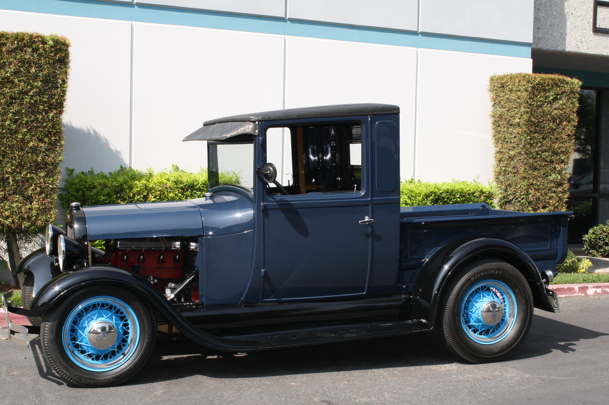1928 ford model a pickup with miller speed equipment the vault classic cars. Black Bedroom Furniture Sets. Home Design Ideas