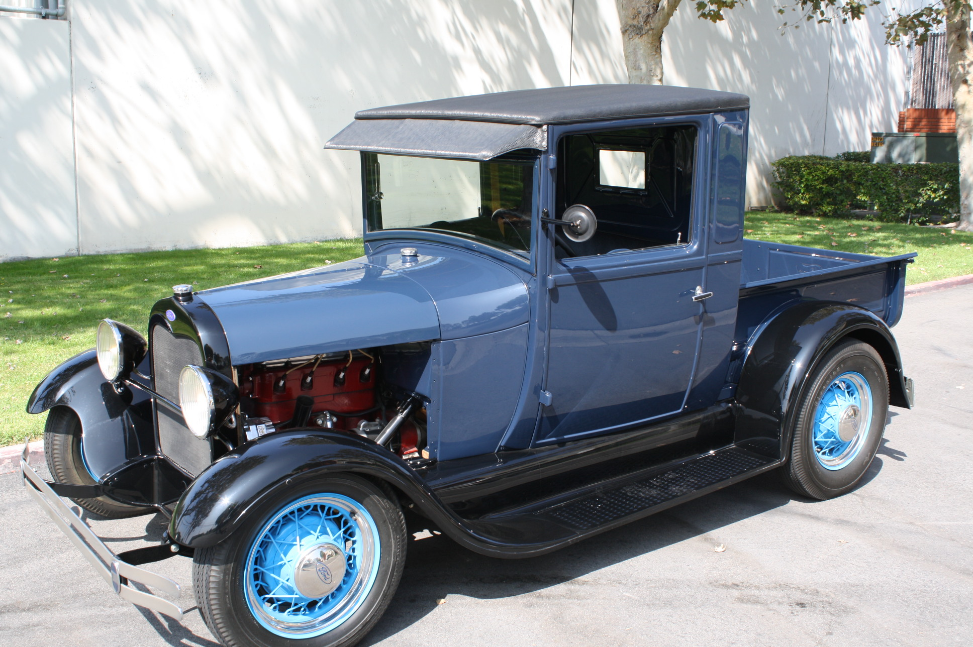 1928 FORD MODEL A PICKUP with MILLER SPEED EQUIPMENT | The Vault ...