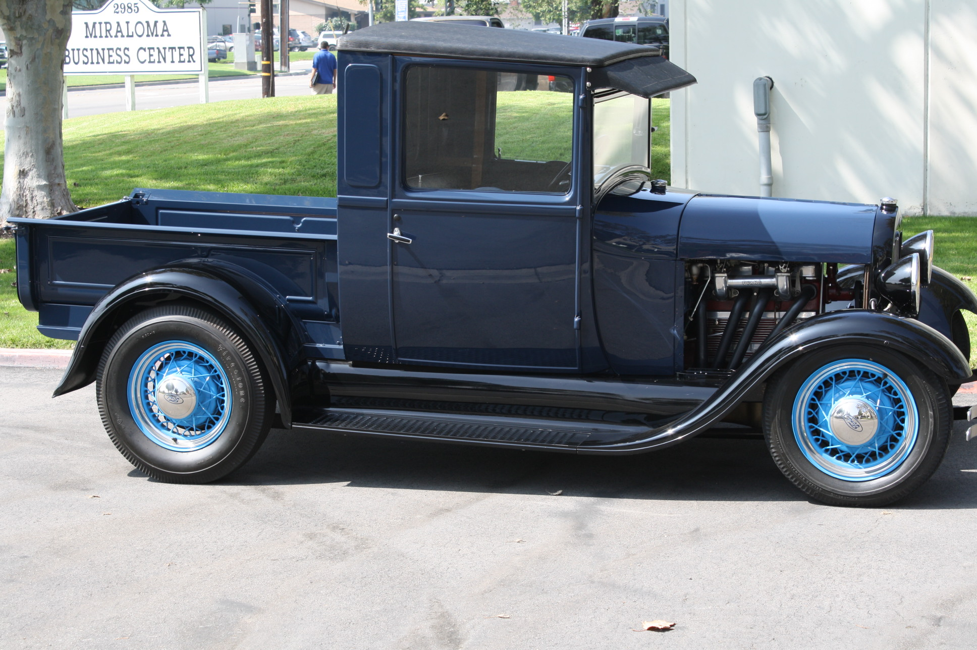 1928 Ford Model A Pickup With Miller Speed Equipment The