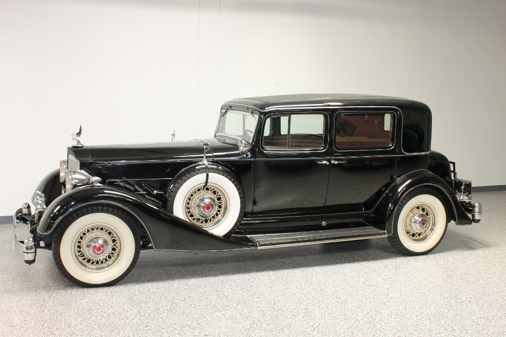 1934 Packard Twelve Club Sedan | The Vault Classic Cars