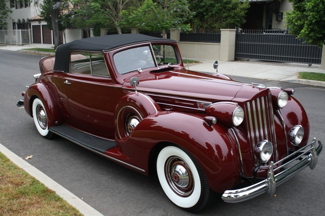 1939 Packard Twelve Roadster The Vault Classic Cars