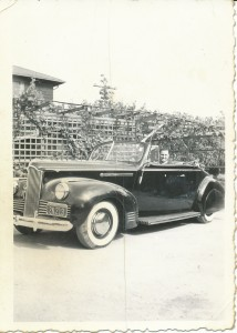 1942 Packard 110 Convertible. Preservation time capsule from the original family and the original farmhouse! Runs and drives nicely! Coming very shortly. Shown here with the original owner when it was new.