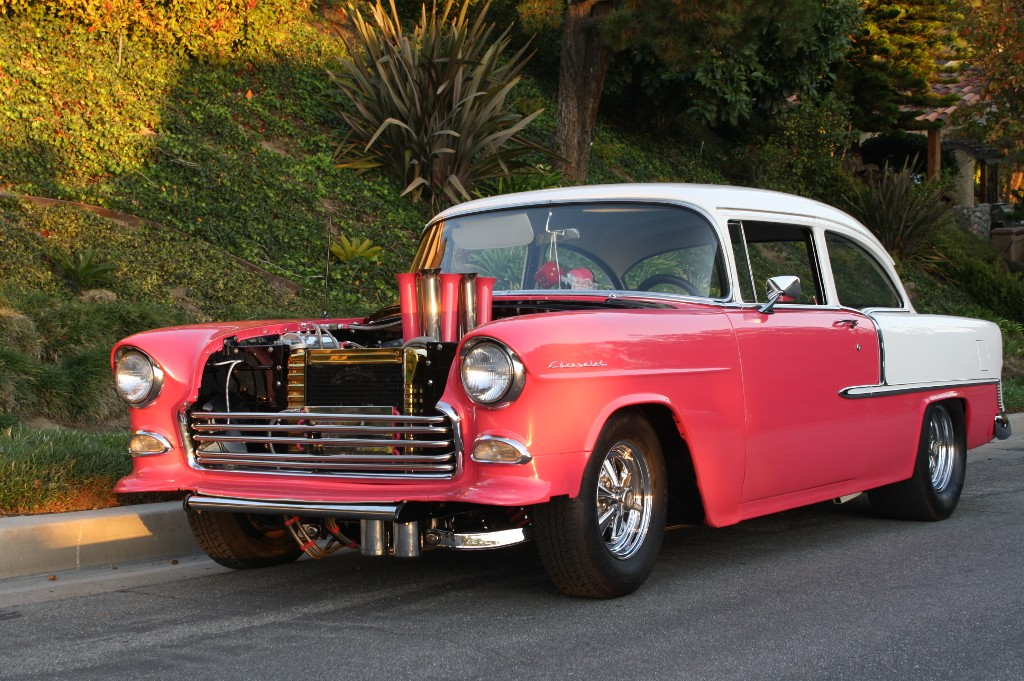 ... 55 chevy 2dr for sale 55 chevy 2dr for sale and gray interior dealer