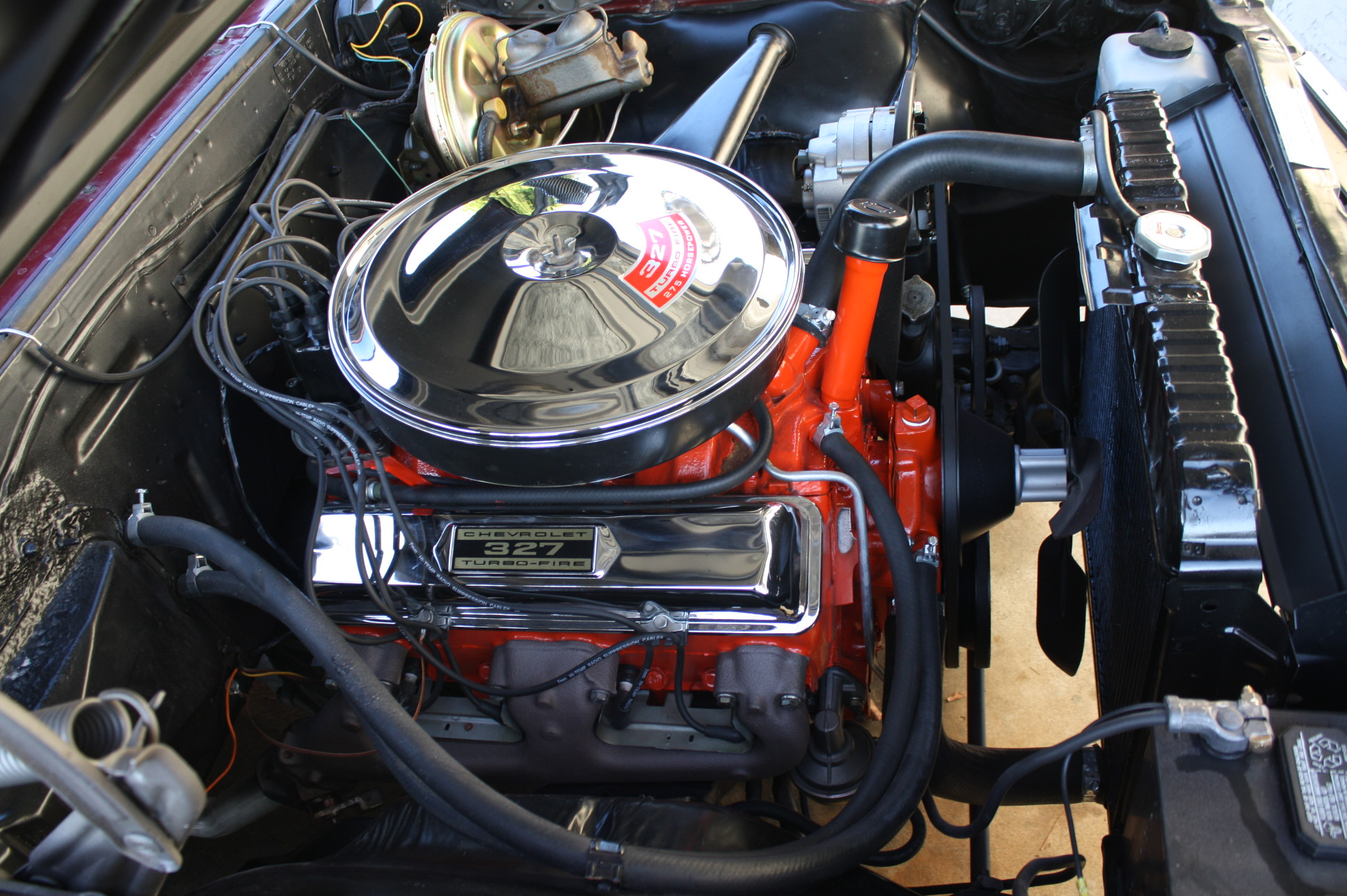 Alternator also Biggest Supercharger On A Muscle Car besides File 1967 Pontiac Parisienne 4 door Hardtop together with Sucp 0809 Rare V8 Performance History likewise 1970 Impala 350 4door Hardtop. on 1966 malibu engines