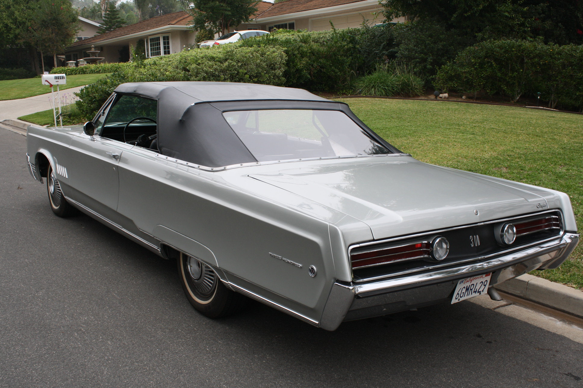 1968 CHRYSLER 300 CONVERTIBLE | The Vault Classic Cars