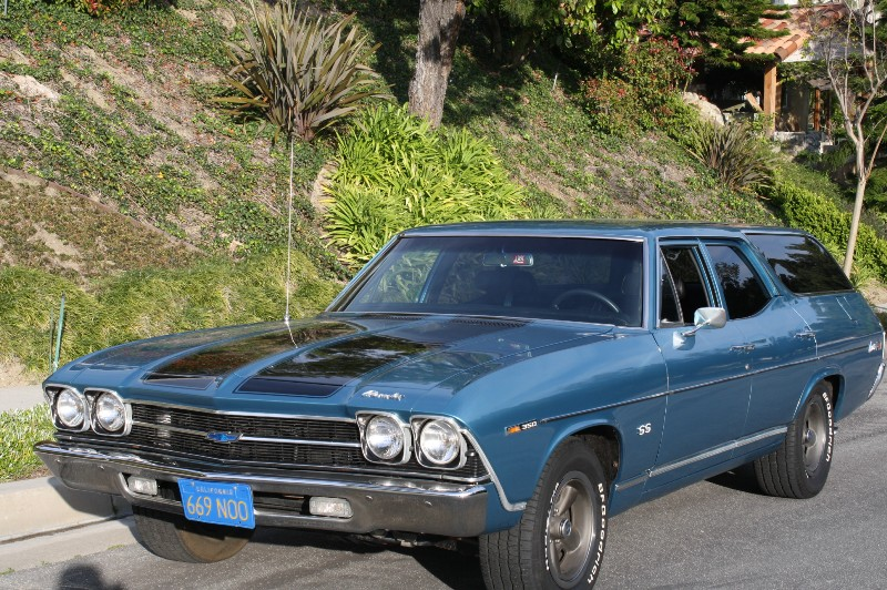 1969 Chevelle Concours Station Wagon The Vault Clic Cars