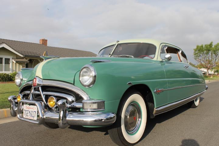 1951 hudson hornet coupe