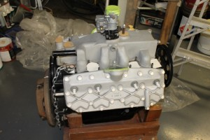 Cord V-8 Engine rebuilt by Henry Portz in 1980. Never installed. Stored indoors, rotates easily. $23,750