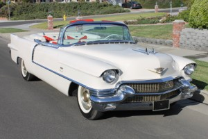1956 Cadillac Eldorado Convertible. 365 V-8, Dual Quads 305 HP, SX trim tag, beautiful and runs great!  CLICK THE PHOTO FOR MORE DETAILS. $92,500