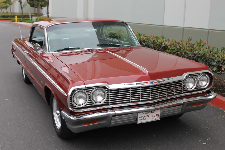 1964 Chevrolet Impala Ss 409 4 Speed The Vault Classic Cars