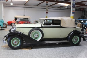 1933 Packard Victoria Convertible - Fresh from lengthy storage, runs, drives, good solid, authentic car! Photos shortly!