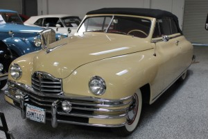 1948 Packard Super 8 Convertible Victoria. Frame-off restoration, Best of show winner, the closest thing there is to a new 1948 Packard!  Factory Overdrive, Electromatic, Radio, Heater, Power windows, top & seat, Vacuum Antenna, Fog lights & Cormorant. $75,000