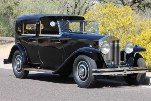 1934 Rolls-Royce Towncar by Brewster. Original body, original engine, excellent history. Extremely attractive coachwork, excellent condition! $125,000