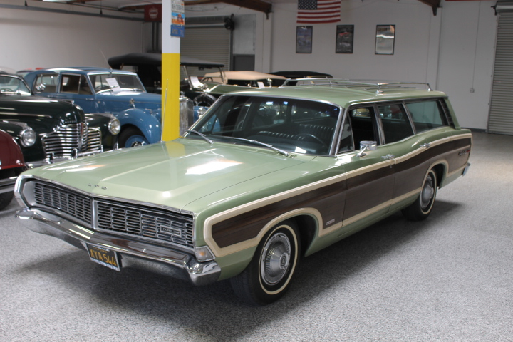 1968 Ford Country Squire Ltd Station Wagon The Vault