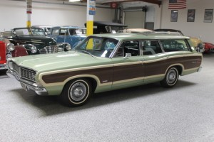 1968 Ford Country Squire Wagon - All original and beautiful! SOLD - off to join it's Hudson, Packard and Cadillac stablemates in England!  CLICK THE PHOTO FOR MORE DETAIL.