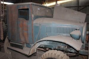 1943 International Military truck, M-1-4. Barn fresh.  coming soon.