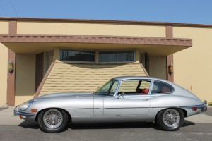 1969 Jaguar XKE Coupe 2+2. California from new, Original engine with recent major service. Red Leather, wire wheels. CLICK THE PHOTO FOR MORE DETAILS