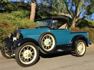1930 Ford Roadster Pickup. Stock, rebuilt engine, runs and drives nice!