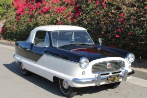 1960 Nash Metropolitan. California car, new paint, excellent original car, Nash Club winner.  $11,995