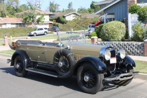 1928 Lincoln Touring by Locke. 1983 AACA first and senior,  Multiple Rose Parade appearances. COMING SOON.