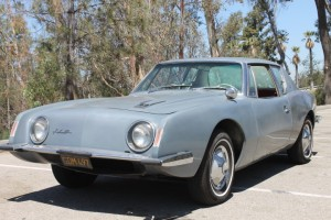 1963 Studebaker Avanti R-1. Documented California car since new, Original preservation car. Mechanically refreshed, runs & drives great!  $21,000 CLICK THE PHOTO FOR MORE DETAIL.
