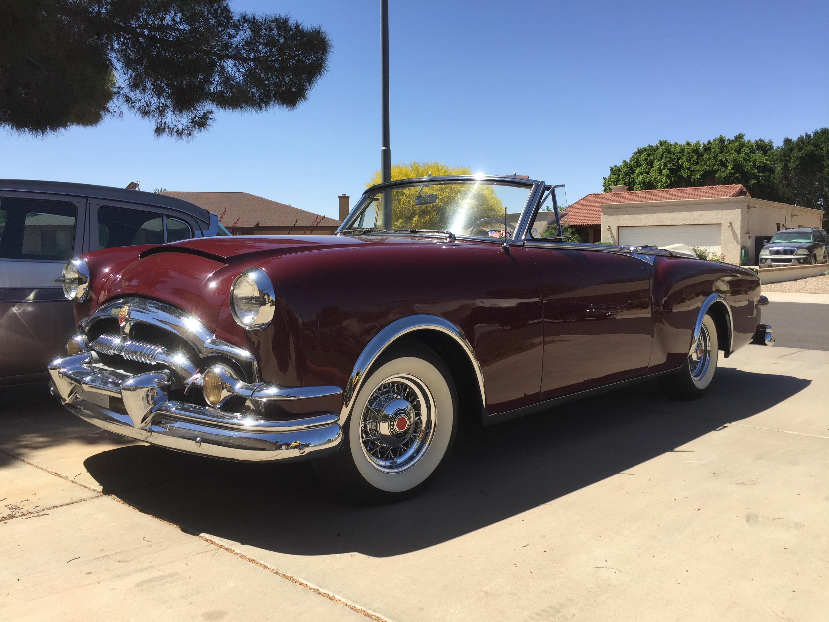 Cars For Sale The Vault Classic 1951 Buick Skylark Convertible 1953 Packard Caribbean Frame Off Restored With Receipts Arriving Shortly