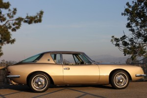 1963 Studebaker Avanti R-1 V-8 with COLD factory A/C, Power windows, Fresh Avanti Gold paint, beautiful interior! Ready to enjoy now! CLICK THE PHOTO FOR MORE DETAILS $29,995