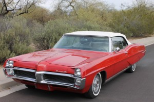 1967 Pontiac Bonneville Convertible. ORIGINAL PAINT AND INTERIOR!  400 4 barrel 335 horsepower v-8, power windows, power brakes, tilt, power steering. Beautifully kept car from Arizona! COMING SOON!