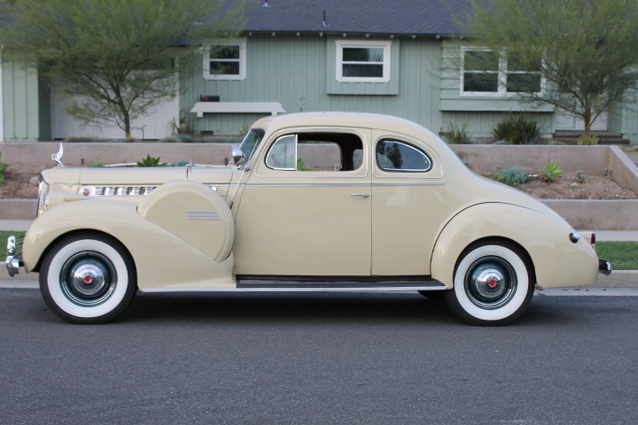 1940 PACKARD 160 SUPER 8 BUSINESS COUPE | The Vault ...