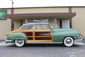 1948 Chrysler Town & Country Convertible - beautifully done, rebuilt engine & transmission. COMING SOON!