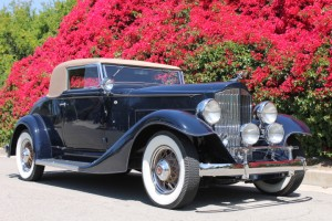 1933 Packard 1001 Coupe - beautifully restored, CCCA first place and Senior badges, absolutely gorgeous! $125,000
