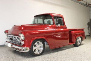 1957 Chevy 3100 Pickup LS-1 Streetrod. Total frame-off professional build by D&P Classic Chevy. Astonishingly nice! $67,000 COMING SOON
