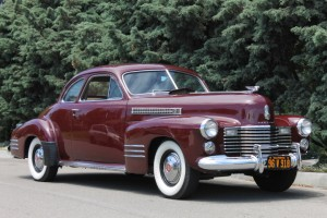 1941 Cadillac Series 62 Coupe, sold to settle estate - same careful ownership since 1965! Runs great, perfect Caravan car. $27,900 CLICK THE PHOTO FOR MORE DETAIL.