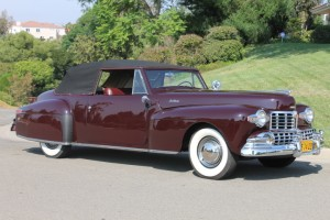 1947 Lincoln Continental Cabriolet. Totally restored, multi, multi national show winner. V-12, working factory overdrive. CLICK THE PHOTO FOR MORE DETAIL