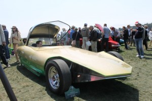 1960's Dream Cars at Pebble. George Jetson was seen in the crowd!