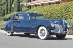 1941 Lincoln Continental Coupe. Beautifully restored, V-12, interesting history, Factory overdrive. Ready for show or tour! $39,500