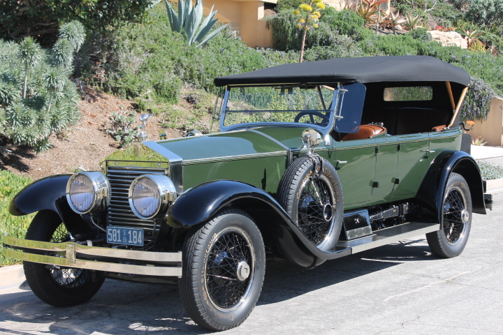 1926 rolls royce silver ghost the vault classic cars 1926 rolls royce silver ghost the